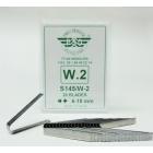 ใบมีดแกะดอกยางแบบหัวตัด W2 ขนาด 4มม.